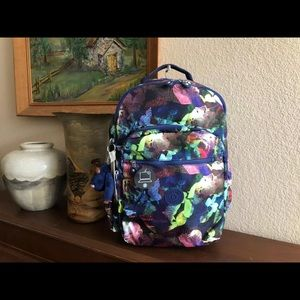Kipling Seoul Go Large Backpack Botanical Aroma